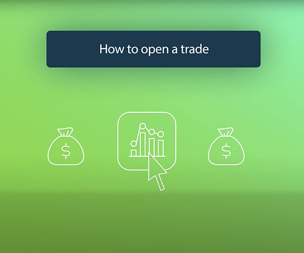 How do I open my first trade?
